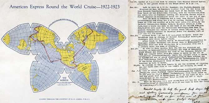 1922アメリカンエキスプレス世界一周