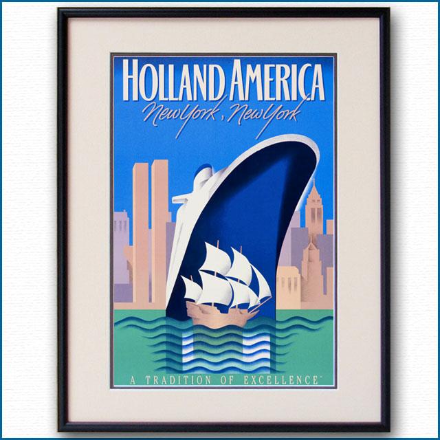 1979年 ホーランドアメリカライン 客船ロッテルダムのポスター 2868LL