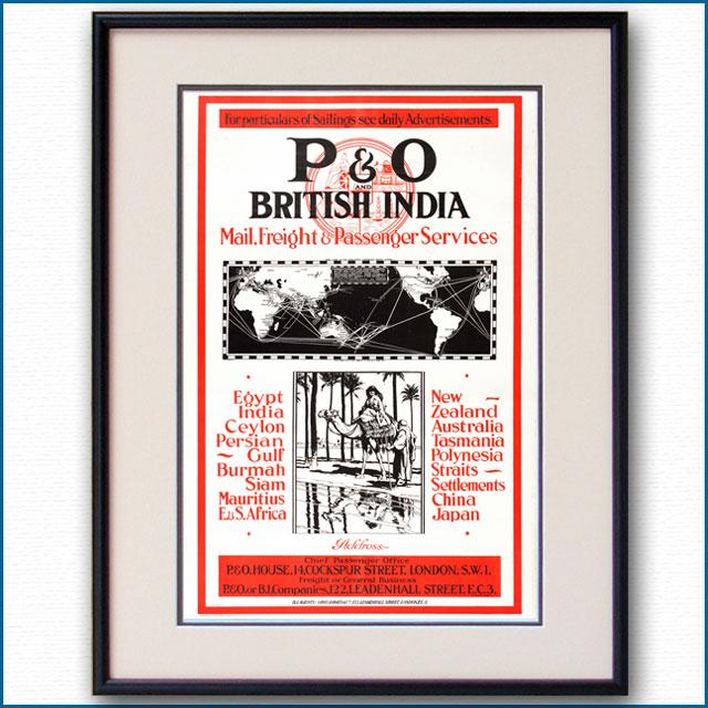 1922年 P&Oのポスター 2929LL