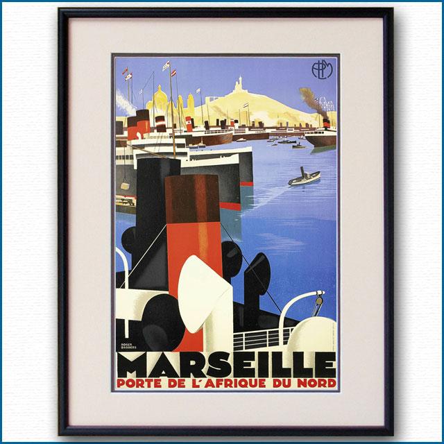 1930年 ロジャー・ブローダー マルセイユのポスター 2959LL
