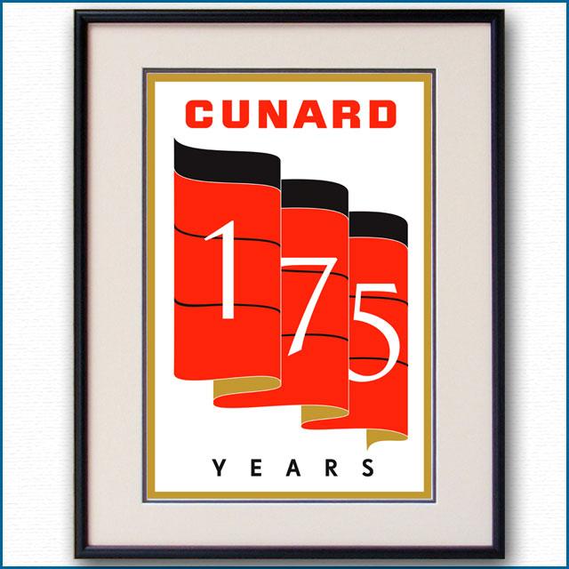 2015年 キュナードラインのポスター 2966LL