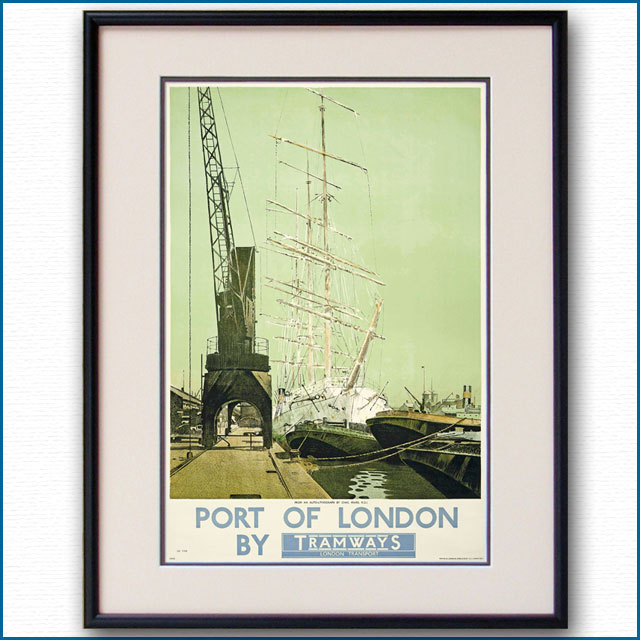 1933年 ポート・オブ・ロンドンのポスター 2973LL