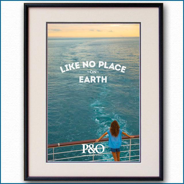 2014年 P&Oクルーズのポスター 2986LL
