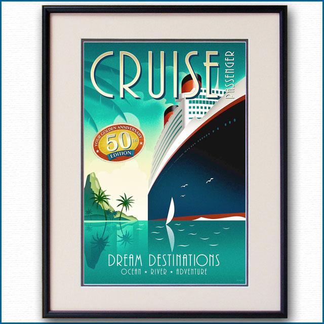 2012年 クルーズパッセンジャーの客船ポスター 2994LL
