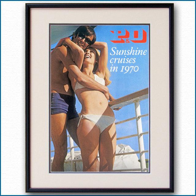 1970年 P&Oのポスター 3006LL
