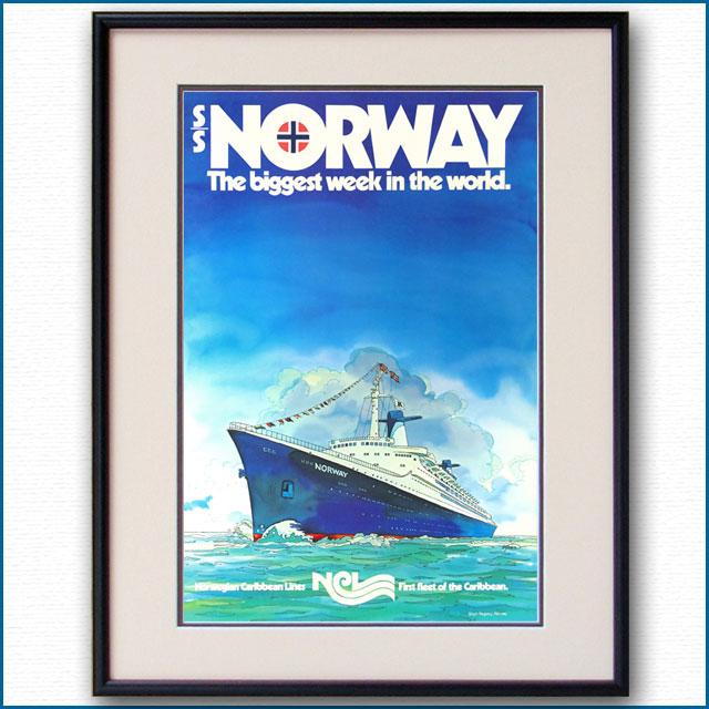 1981年 NGL SSノルウェーのポスター 3010LL