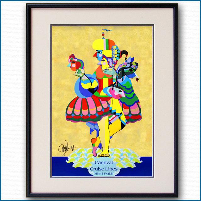 1987年 ビヨン・ウィンブラッド カーニバルクルーズのポスター 3017LL
