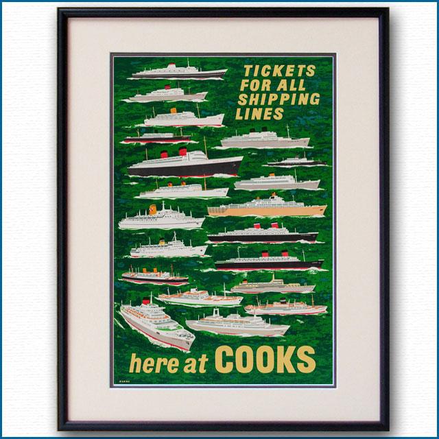 1957年 トーマス・クックのポスター 3047LL
