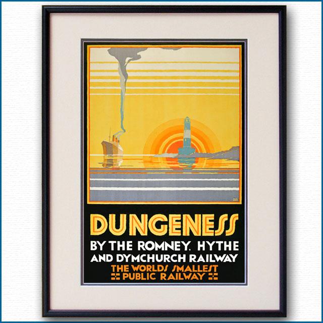 1928年 クラマー・ロバーツ ロムニー鉄道のポスター 3059LL