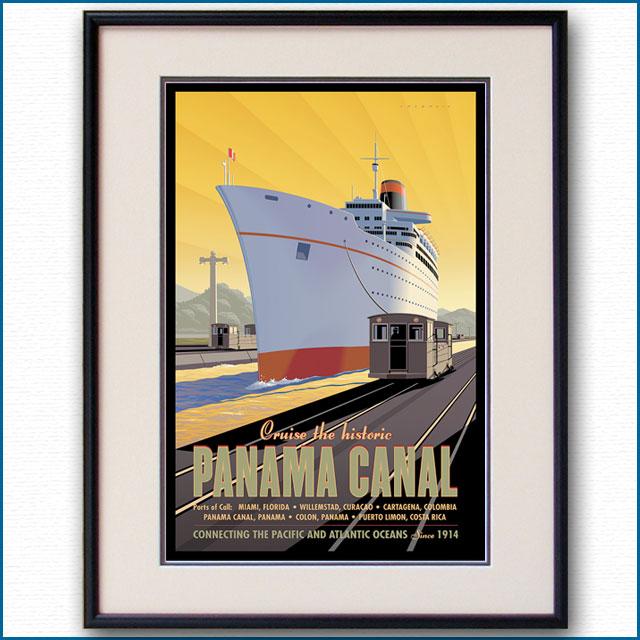2016年 ダン・コスグローブ パナマ運河のポスター 3064LL