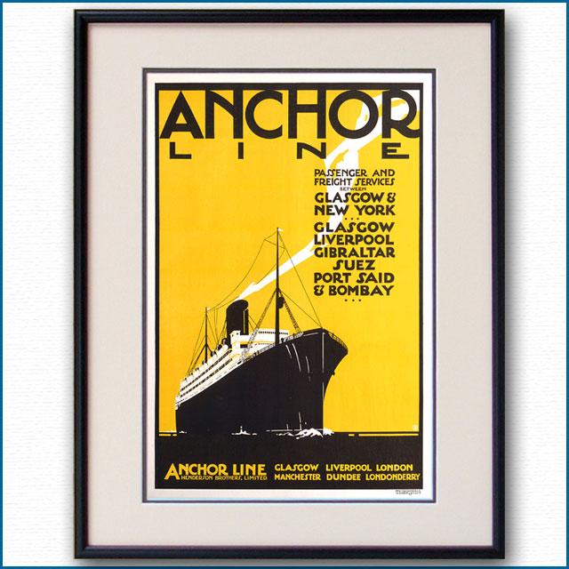 1926年 アンカーラインのポスター 3065LL
