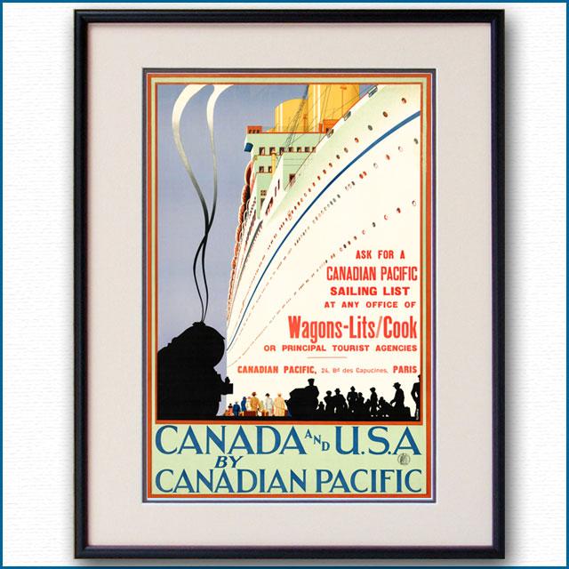 1930年 ワゴンリ・クック・CPL 大西洋横断のポスター 3079LL