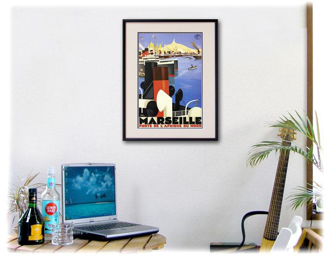 1930年 ロジャー・ブローダー マルセイユのポスター、ディスプレーイメージ