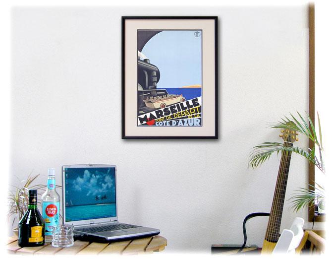 1929年 ロジャー・ブローダー マルセイユのポスター、ディスプレーイメージ
